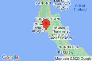 Map of Krabi Province