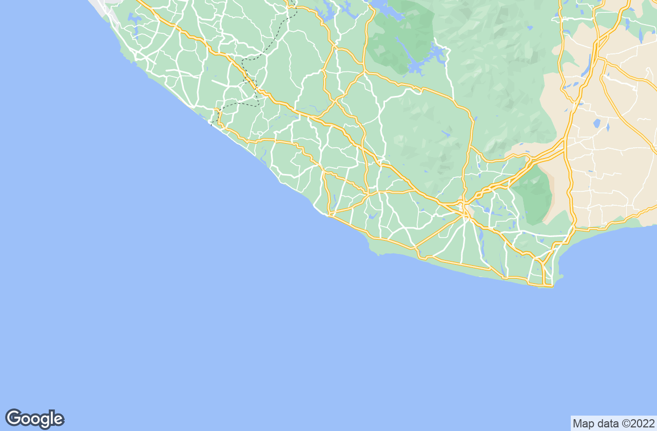 Google Map of Colachel