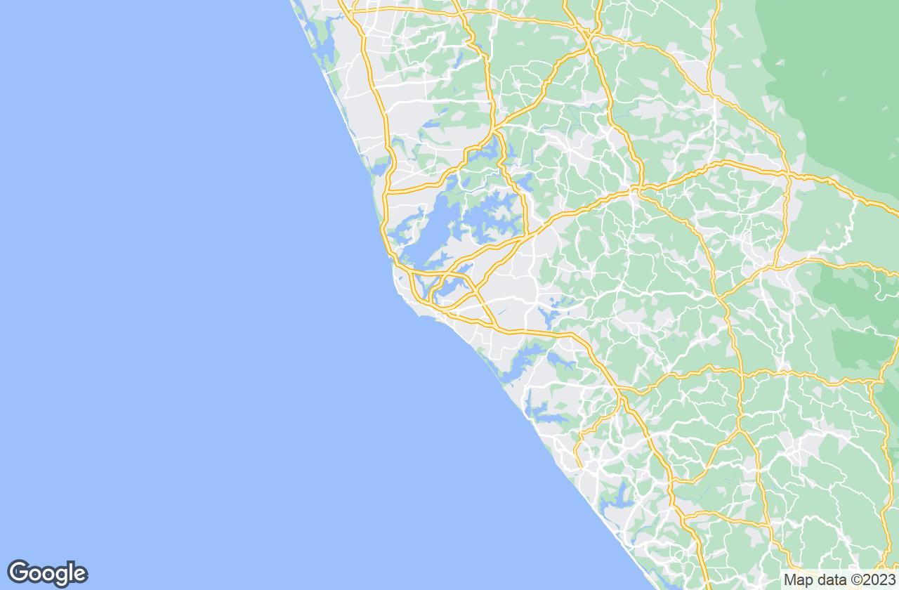 Google Map of كولام