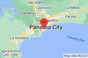 Map of Panama City Area
