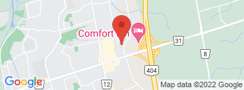 Google Map of 80+Harry+Walker+Parkway%2CNewmarket%2COntario+L3Y+8W2