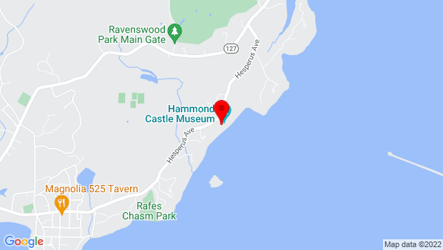 Google Map of 80 Hesperus Avenue, Gloucester, MA 01930