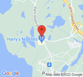 Google Map of 80+Joseph+Street%2CParry+Sound%2COntario+P2A+2G5