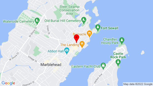 Google Map of 80 Washington Street, Marblehead, MA