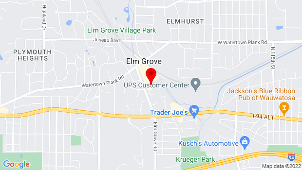 Google Map of 800 Elm Grove Road, Elm Grove, WI 53122