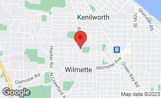 Map of 800 Ridge Road #211 WILMETTE, IL 60091