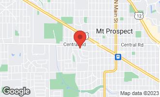 Map of 800 West Busse Avenue MOUNT PROSPECT, IL 60056