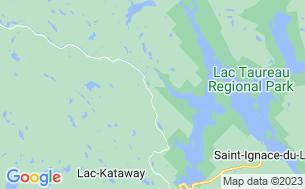 Map of Camping Parc Régional Du Lac Taureau