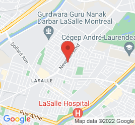 Google Map of 8000+Newman+Blvd.%2CVille+Lasalle%2CQuebec+H8N+1X9