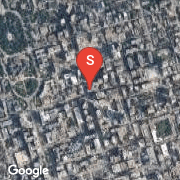 Satellite Map of 801 Bay St Unit 1805, Toronto, Ontario