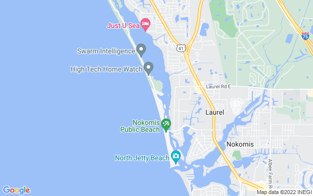801 & 810 Casey Key Rd Nokomis Florida 34275 locatior map