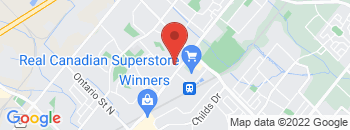 Google Map of 801+Main+Street+East%2CMilton%2COntario+L9T+3Z3