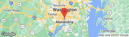 Map of 801 Pitt Street North #115-116 Alexandria, VA 22314