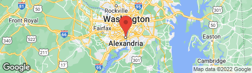 Map of 801 Pitt Street North Alexandria, VA 22314