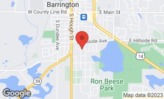 Map of 801 South Grove Avenue BARRINGTON, IL 60010