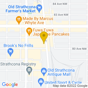 Map to Cook County Saloon provided by Google