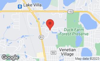 Map of 802 Preston Court LAKE VILLA, IL 60046