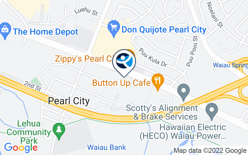 CARE Hawaii Pearl City Office Location and Directions