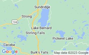 Map of Lake Bernard Park