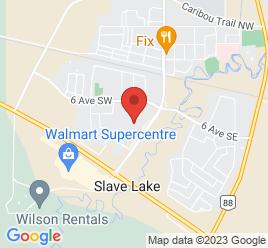 Google Map of 804+Main+Street+S.W.%2CSlave+Lake%2CAlberta+T0G+2A0