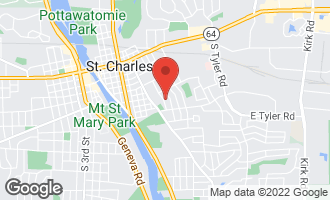 Map of 804 South 9th Avenue ST. CHARLES, IL 60174