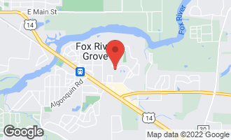 Map of 805 Norge Parkway FOX RIVER GROVE, IL 60021