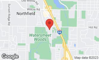 Map of 8050 Arbor Lane #203 NORTHFIELD, IL 60093