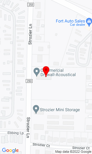 Google Map of Glidewell Construction, INC. 806 Strozier Lane, Barling, AR, 72941