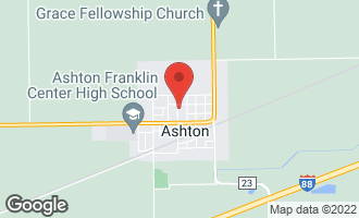 Map of 806 Douglas Avenue ASHTON, IL 61006