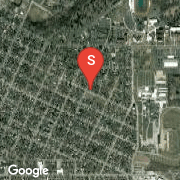 Satellite Map of 807 Bristol, Adrian, MI