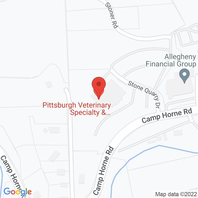 Google Map of 807 Camp Horne Rd., Pittsburgh, PA 15237, 807 Camp Horne Rd., Pittsburgh, PA 15237