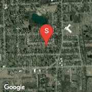Satellite Map of 808 Huron, Tecumseh, MI