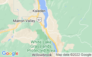 Map of Playa Okanagan RV Park