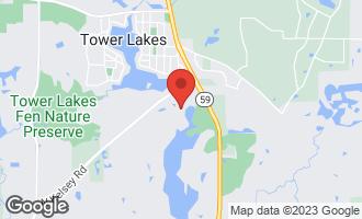 Map of 808 Shoreline Road Lake Barrington, IL 60010