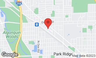 Map of 808 Wilkinson Parkway PARK RIDGE, IL 60068