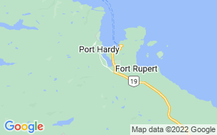 Map of Port Hardy RV Resort