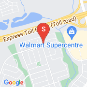 Road Map of 81 Luzon Ave, Markham, On