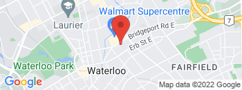 Google Map of 81+Bridgeport+Rd+E%2CWaterloo%2COntario+N2J+2K2