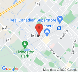 Google Map of 81+Ontario+Street+North%2CMilton%2COntario+L9T+2T2