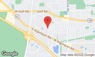Map of 810 East Shady Way #102 ARLINGTON HEIGHTS, IL 60005