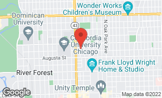 Map of 810 North Marion Street OAK PARK, IL 60302