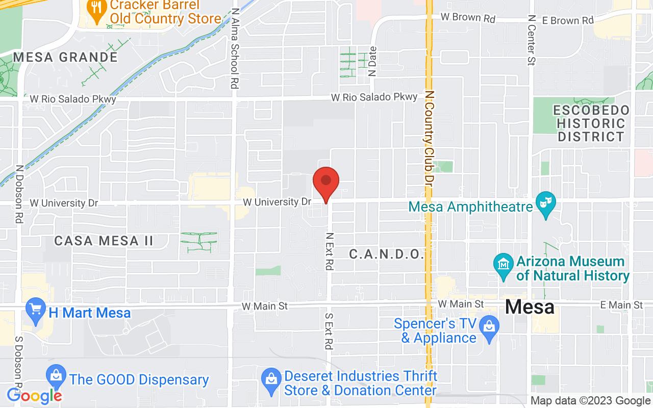 Mesa Barber School - West