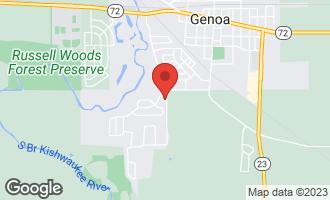 Map of 811 Nicholas Circle GENOA, IL 60135