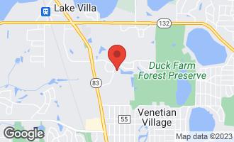 Map of 811 Preston Court LAKE VILLA, IL 60046