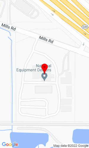 Google Map of Four Seasons Equipment Inc 8111 Mills Road , Houston, TX, 77064