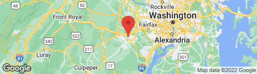 Map of 8111 LACY DRIVE #202 MANASSAS, VA 20109