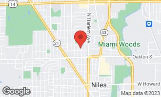 Map of 8114 North Octavia Avenue NILES, IL 60714