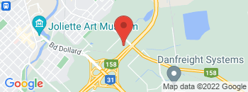 Google Map of 815+chemin+des+prairies%2CJoliette%2CQuebec+J6E+8T6