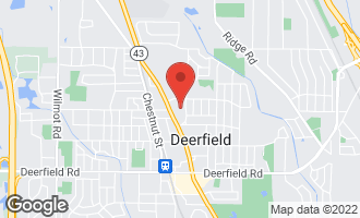 Map of 815 Deere Park Court DEERFIELD, IL 60015