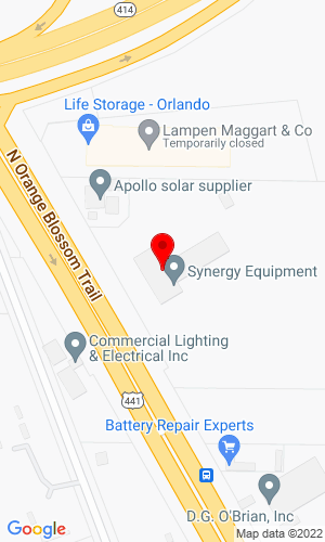 Google Map of FBCH Orlando LLC 8151 N Orange Blossom Trail, Orlando, FL, 32810
